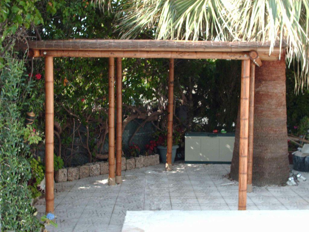 Pergola de bambu 1a - Pergolas de bambu ...
