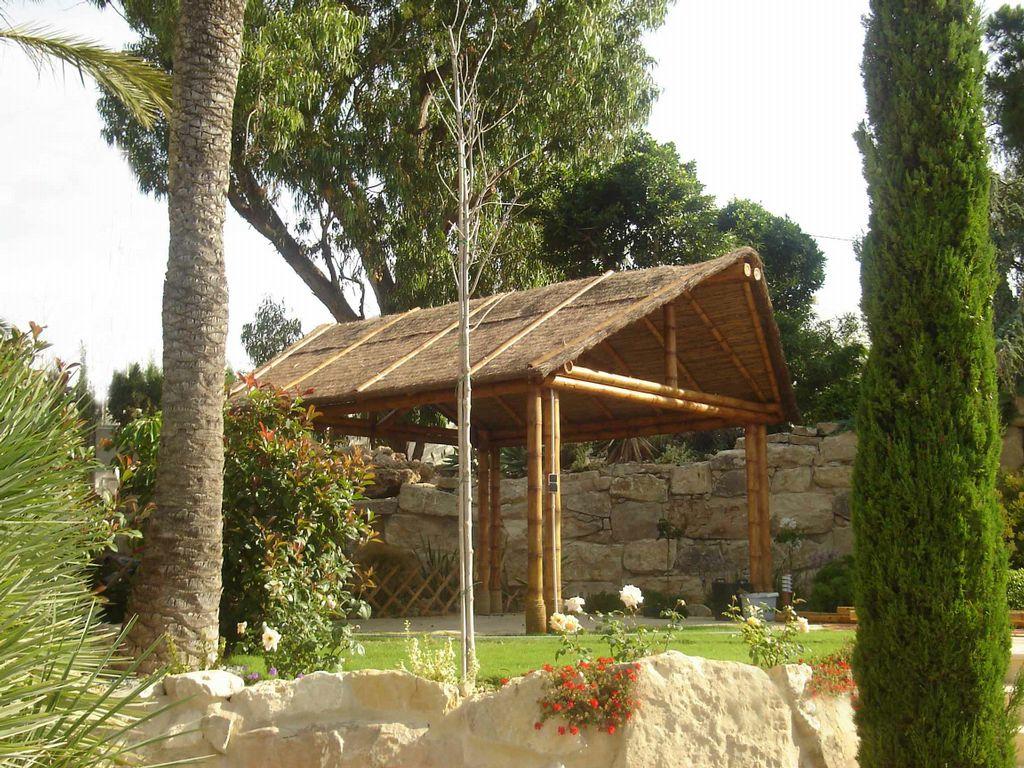 P rgola de bamb 2a 3 - Pergola bambu ...