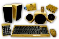 Accesorios fabricados con bambú para tu ordenador