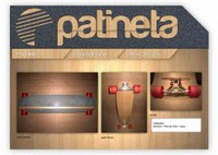Longboard Concept One by Patineta