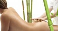 Masaje con bambú