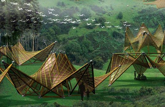refugios de bamb