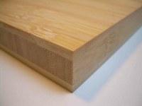 Tableros macizos de bambú